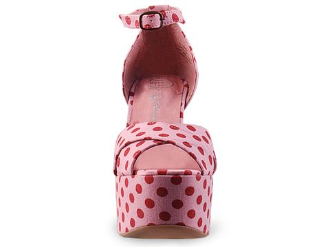 Jeffrey Campbell In Pink Red Dot El Carmen
