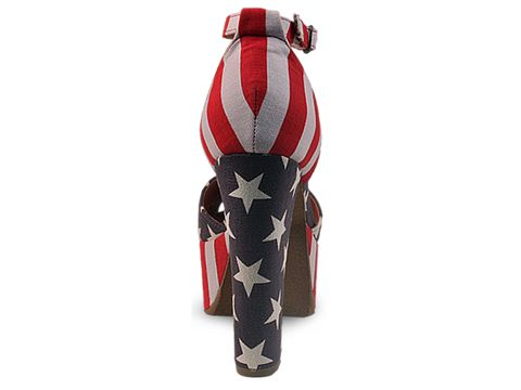 Jeffrey Campbell In Stars And Stripes El Carmen