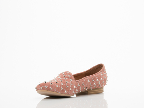 Jeffrey Campbell In Pink Suede Silver Elegant Q