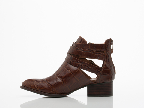 Jeffrey Campbell In Brown Croco Everly