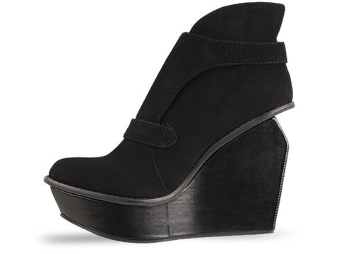 Jeffrey Campbell In Black Suede Exam NS