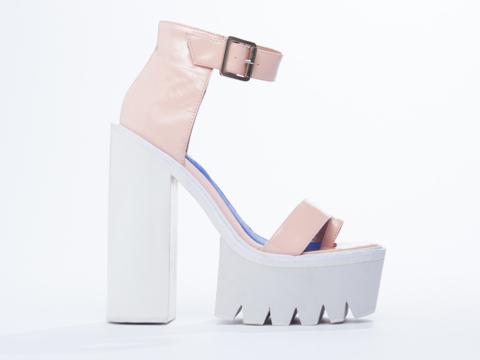 Jeffrey Campbell In Pink Patent Fabrizio