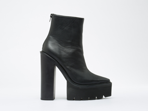 Jeffrey Campbell In Black Famous