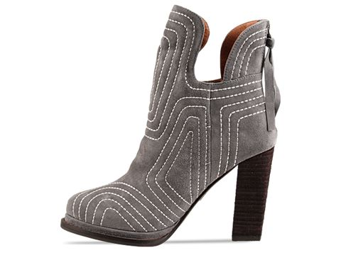 Jeffrey Campbell In Grey Suede Fiona
