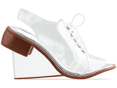 Jeffrey Campbell In Clear Float