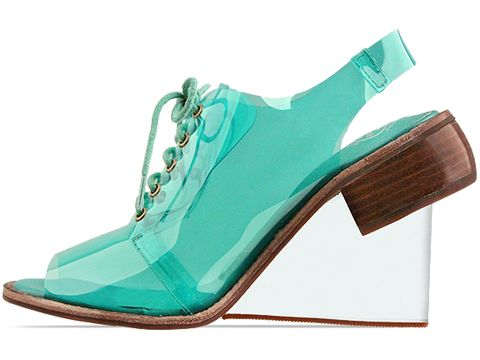 Jeffrey Campbell In Forest Green Float