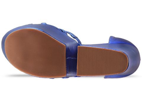 Jeffrey Campbell In Blue Metallic For Real