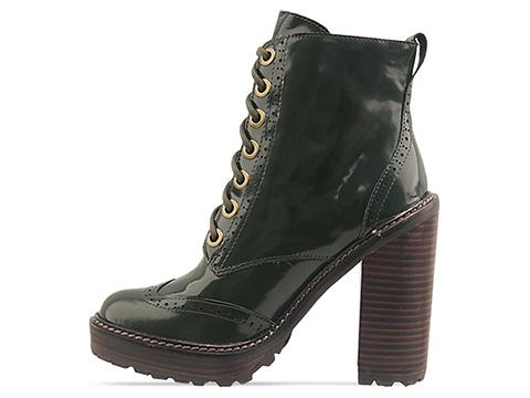 Jeffrey Campbell In Dark Green Forks