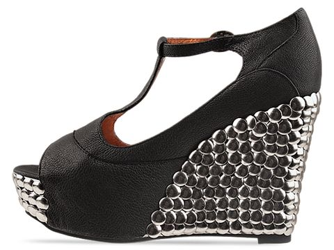 Jeffrey Campbell In Black Fox Tick