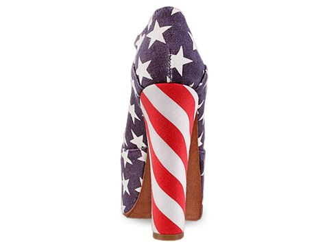 Jeffrey Campbell In Stars And Stripes Foxy Fab