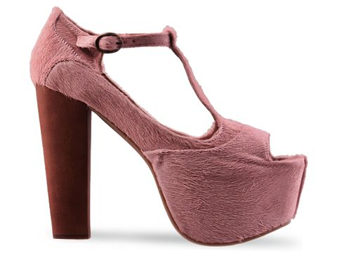 Jeffrey Campbell In Pink Fur Foxy WD F