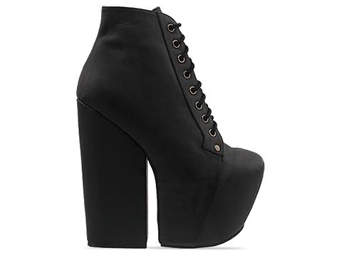 Jeffrey Campbell In Black Washed Freda