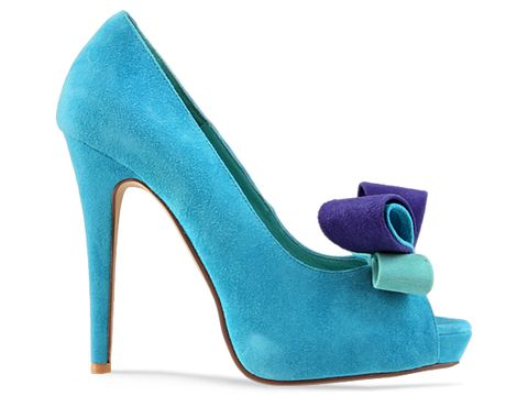 Jeffrey Campbell In Aqua Combo Garret