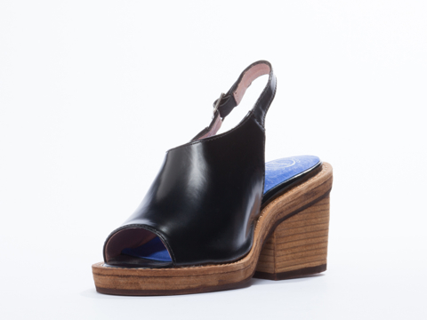 Jeffrey Campbell In Black Shiny Gena