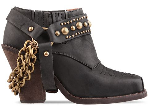 Jeffrey Campbell In Black Distressed Gene