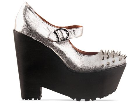 Jeffrey Campbell In Silver Gil Stud