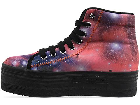 Jeffrey Campbell In Pink Cosmic Black Homg
