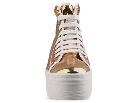Jeffrey Campbell In Rose Gold White Homg