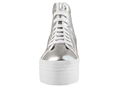 Jeffrey Campbell In Silver White Homg