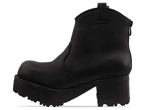 Jeffrey Campbell In Black Distressed Horses