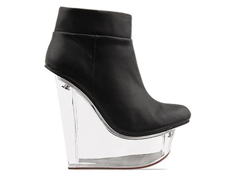 Jeffrey Campbell In Black Clear Icy