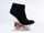 Jeffrey Campbell In Black Suede Glitter Icy