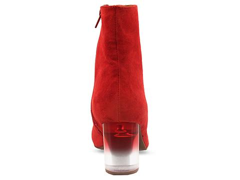 Jeffrey Campbell In Red Suede Grad In The Mood