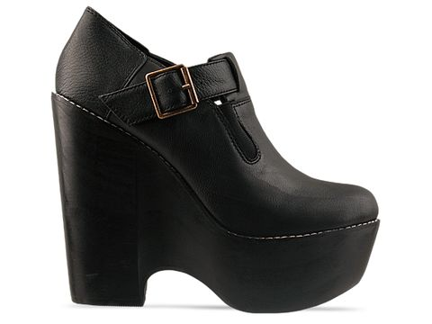 Jeffrey Campbell In Black In Trouble