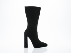 Jeffrey Campbell In Black Suede Incognito