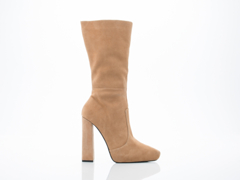 Jeffrey Campbell In Camel Suede Incognito