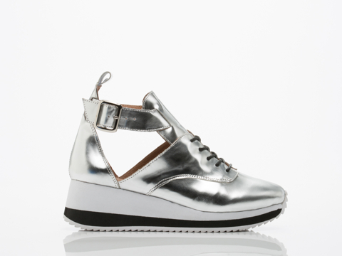 Jeffrey Campbell In Silver Jeter