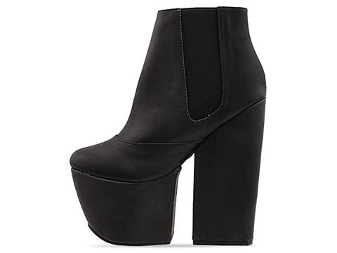 Jeffrey Campbell In Black Washed Kane