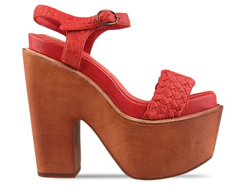 Jeffrey Campbell In Red Kicker
