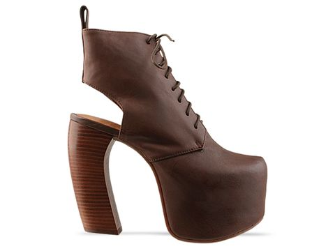 Jeffrey Campbell In Brown Distressed Lana