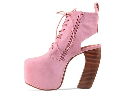 Jeffrey Campbell In Pink Suede Lana