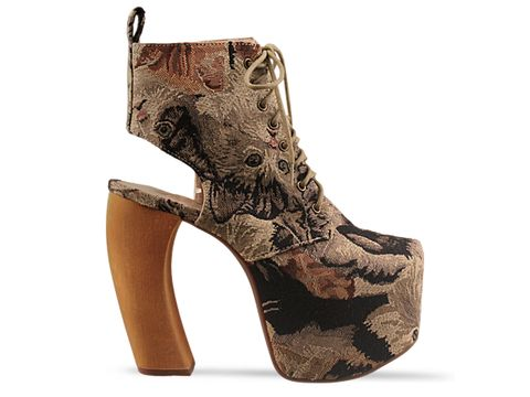 Jeffrey Campbell In Cat Tapestry Lana Fab