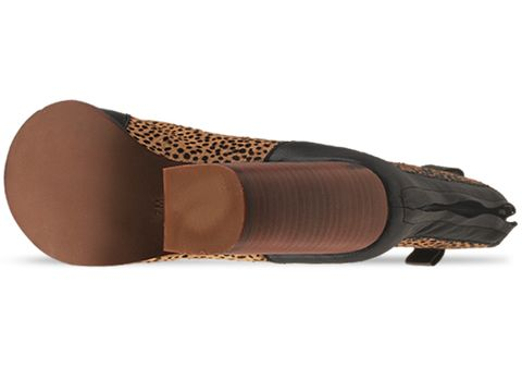 Jeffrey Campbell In Black Natural Jaguar Lashes