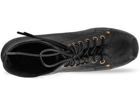 Jeffrey Campbell In Black Calf Leather Lita