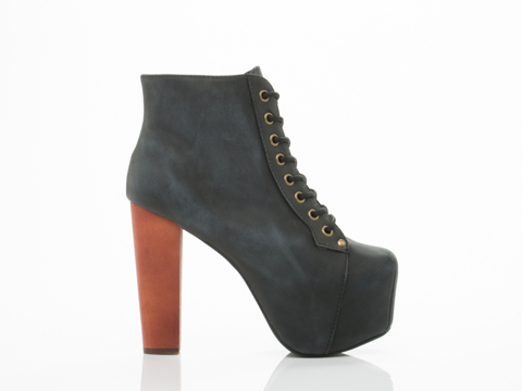 Jeffrey Campbell In Blue Distressed Lita