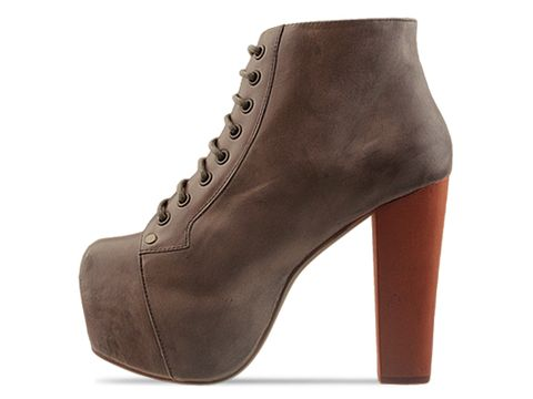 Jeffrey Campbell In Grey Distressed Lita