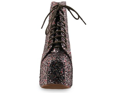 Jeffrey Campbell In Multi Glitter Lita