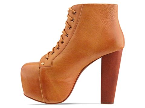 Jeffrey Campbell In Mustard Distressed Lita