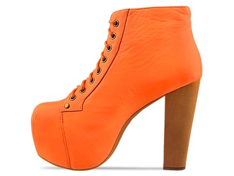 Jeffrey Campbell In Orange Neon Lita