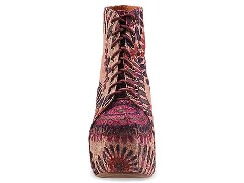 Jeffrey Campbell In Purple Feather Lita