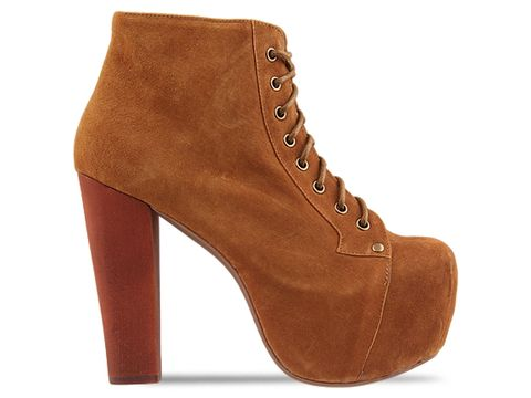 Jeffrey Campbell In Tan Suede Lita