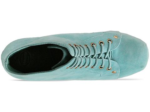 Jeffrey Campbell In Turquoise Suede Lita