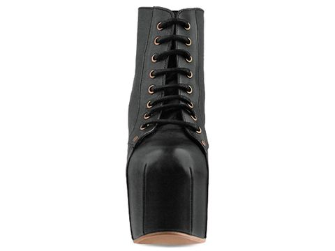 Jeffrey Campbell In Black Leather Lita Espana