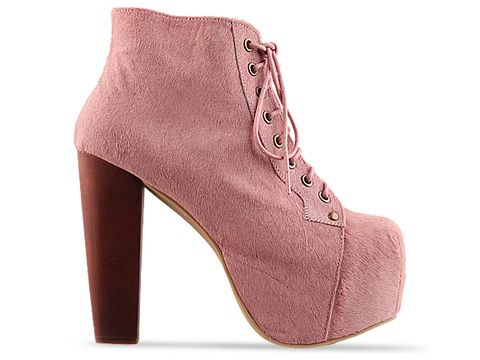 Jeffrey Campbell In Pink Lita Fur