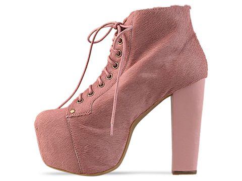Jeffrey Campbell In Pink Pink Lita Fur