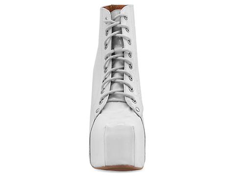 Jeffrey Campbell In White Patent Lita Grad